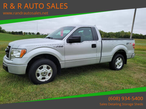 2014 Ford F-150 for sale at R & R AUTO SALES in Juda WI