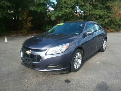 2014 Chevrolet Malibu for sale at Westford Auto Sales in Westford MA