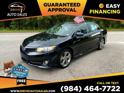 2012 Toyota Camry for sale at Drive 1 Auto Sales in Wake Forest NC