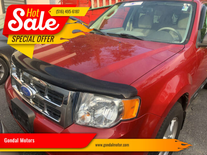 2011 Ford Escape for sale at Gondal Motors in West Hempstead NY