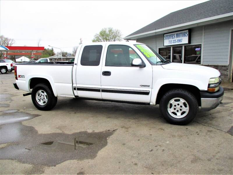 2002 Chevrolet Silverado 1500 for sale at Steffes Motors in Council Bluffs IA