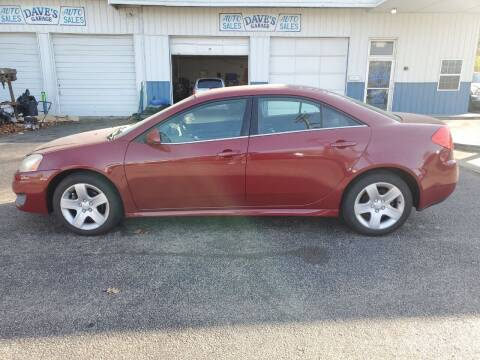 2010 Pontiac G6 for sale at Dave's Garage & Auto Sales in East Peoria IL