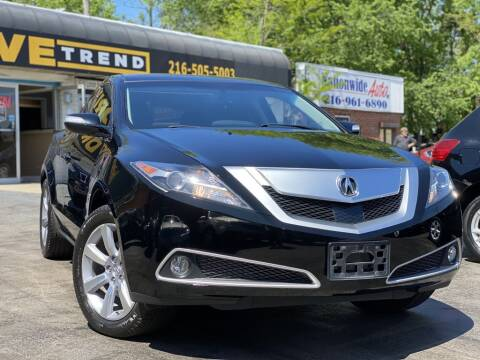 2011 Acura ZDX for sale at DRIVE TREND in Cleveland OH