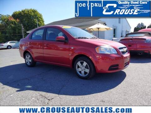 2008 Chevrolet Aveo for sale at Joe and Paul Crouse Inc. in Columbia PA