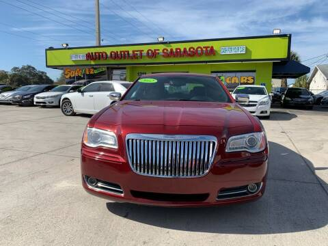 2012 Chrysler 300 for sale at Auto Outlet of Sarasota in Sarasota FL