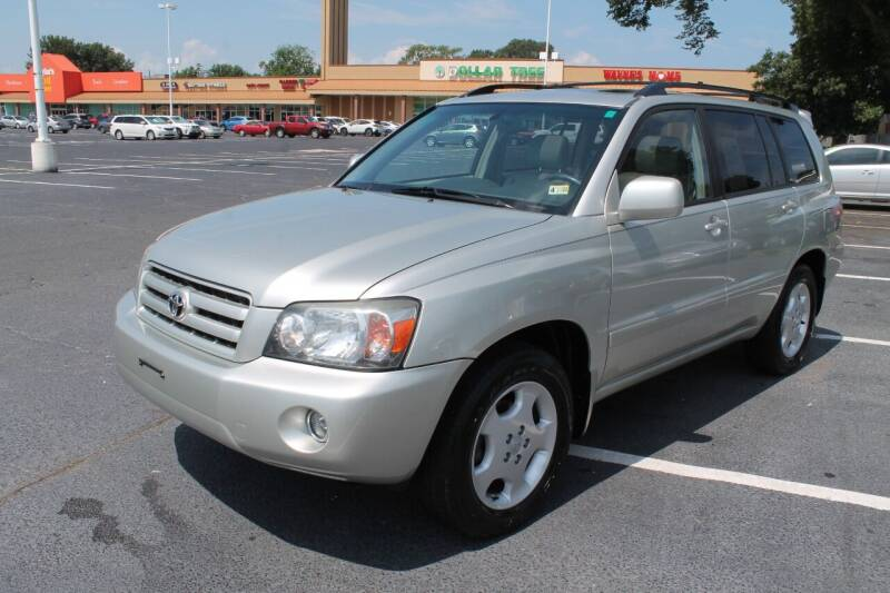 2006 Toyota Highlander for sale at Drive Now Auto Sales in Norfolk VA