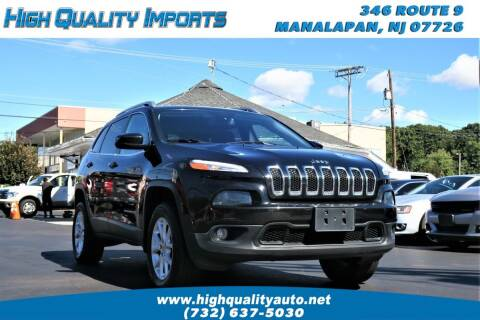 2016 Jeep Cherokee for sale at High Quality Imports in Manalapan NJ
