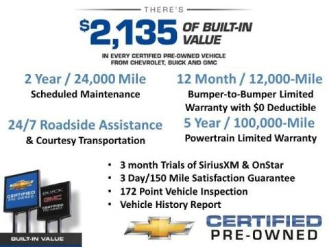 2016 Chevrolet Malibu for sale at Hawkins Chevrolet in Danville PA