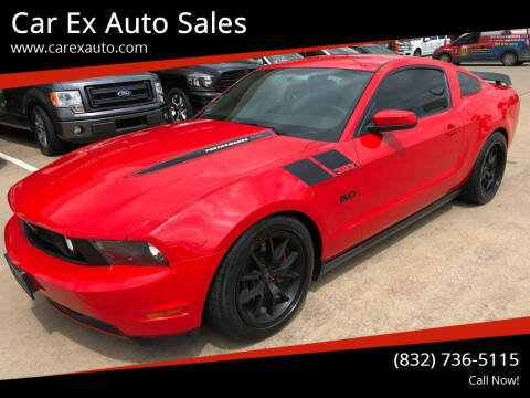 2012 Ford Mustang for sale at Car Ex Auto Sales in Houston TX