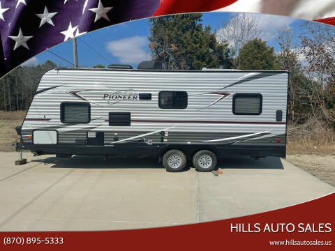 2018 Heartland Pioneer RG 22 for sale at Hills Auto Sales in Salem AR