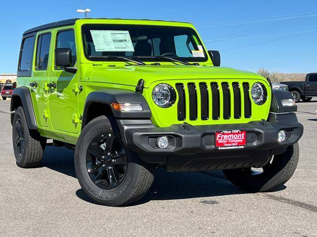 2021 Jeep Wrangler Unlimited for sale in Casper, WY