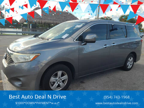 2014 Nissan Quest for sale at Best Auto Deal N Drive in Hollywood FL