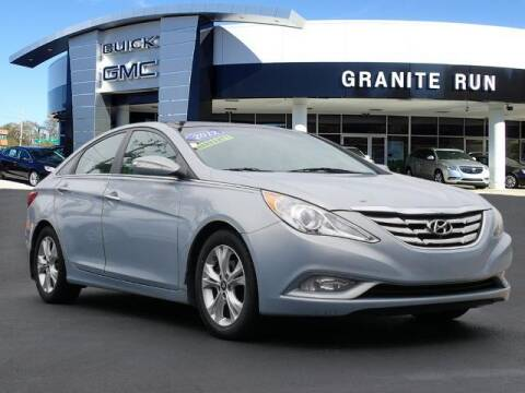 2012 Hyundai Sonata for sale at GRANITE RUN PRE OWNED CAR AND TRUCK OUTLET in Media PA
