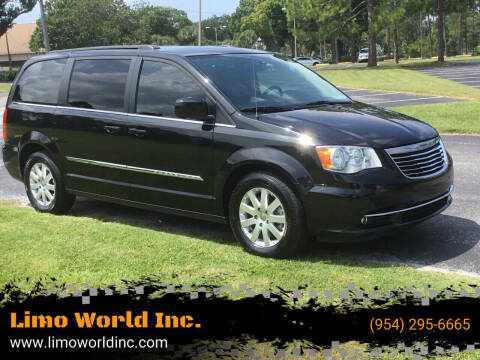 2015 Chrysler Town and Country for sale at Limo World Inc. in Seminole FL