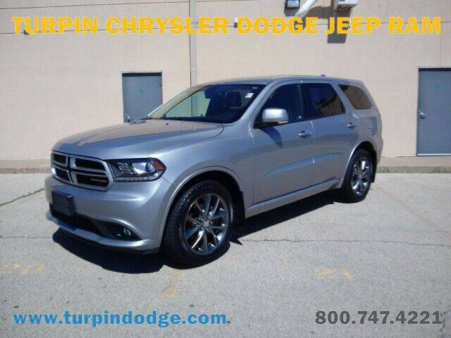 2017 Dodge Durango for sale at Turpin Dodge Chrysler Jeep Ram in Dubuque IA