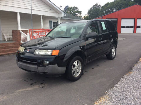 2003 Saturn Vue for sale at Ace Auto Sales - $800 DOWN PAYMENTS in Fyffe AL