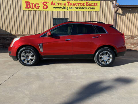 2013 Cadillac SRX for sale at BIG 'S' AUTO & TRACTOR SALES in Blanchard OK
