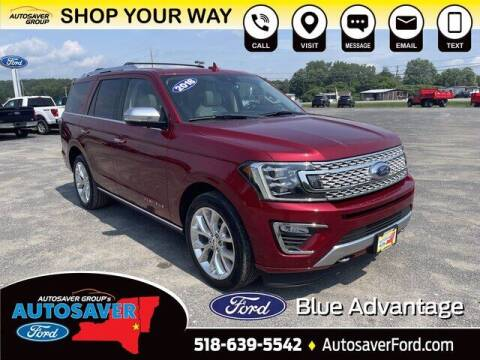 2018 Ford Expedition for sale at Autosaver Ford in Comstock NY
