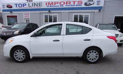 2014 Nissan Versa for sale at Top Line Import of Methuen in Methuen MA
