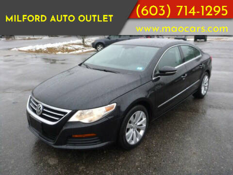 2011 Volkswagen CC for sale at Milford Auto Outlet in Milford NH