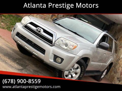 2007 Toyota 4Runner for sale at Atlanta Prestige Motors in Decatur GA