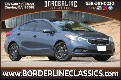 2015 Kia Forte for sale at Borderline Classics in Dinuba CA
