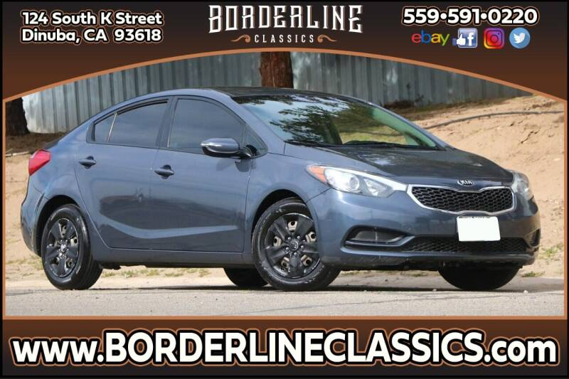 2015 Kia Forte for sale at Borderline Classics in Dinuba CA