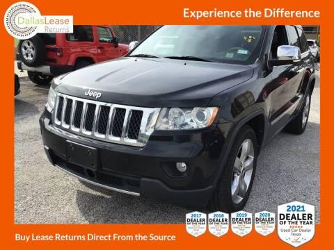 2013 Jeep Grand Cherokee for sale at Dallas Auto Finance in Dallas TX