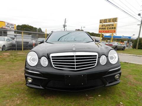 2007 Mercedes-Benz E-Class for sale at Atlanta Fine Cars in Jonesboro GA
