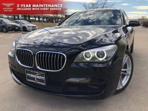 2015 BMW 7 Series for sale at European Motors Inc in Plano TX