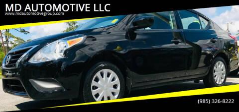 2017 Nissan Versa for sale at MD AUTOMOTIVE LLC in Slidell LA