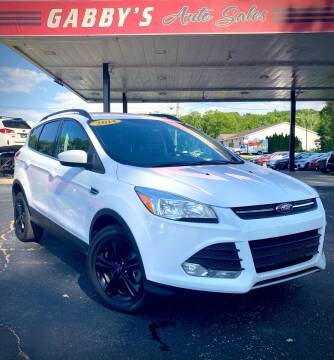 2014 Ford Escape for sale at GABBY'S AUTO SALES in Valparaiso IN