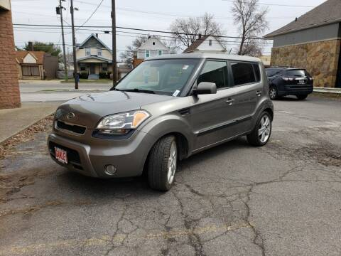 2011 Kia Soul for sale at USA AUTO WHOLESALE LLC in Cleveland OH