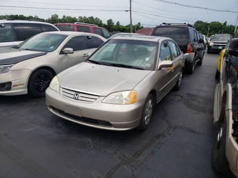 2002 Honda Civic for sale at American Motors Inc. - Cahokia in Cahokia IL