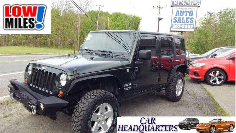 2010 Jeep Wrangler Unlimited for sale at CAR  HEADQUARTERS in New Windsor NY
