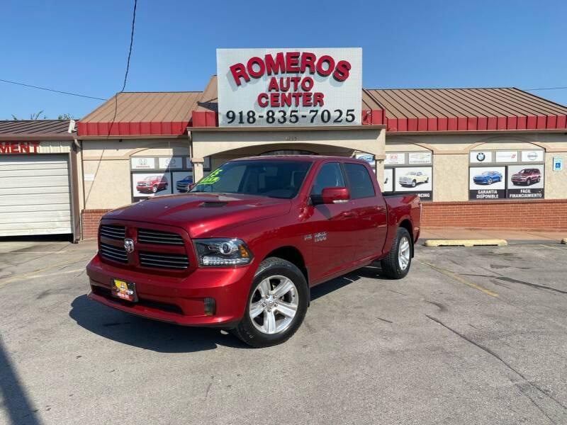 2015 RAM Ram Pickup 1500 for sale at Romeros Auto Center in Tulsa OK