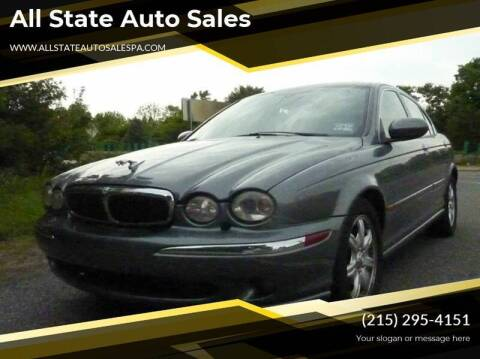 2003 Jaguar X-Type for sale at All State Auto Sales in Morrisville PA