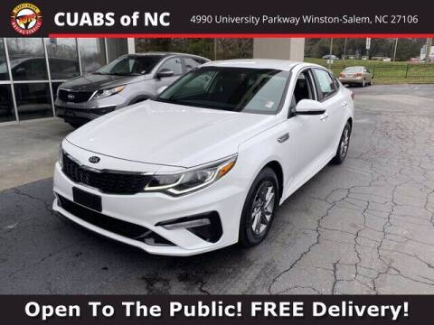2019 Kia Optima for sale at Credit Union Auto Buying Service in Winston Salem NC