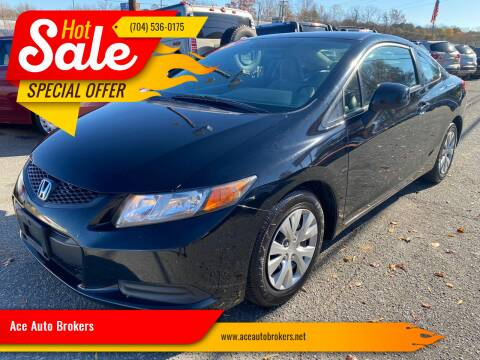 2012 Honda Civic for sale at Ace Auto Brokers in Charlotte NC