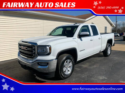 2019 GMC Sierra 1500 Limited for sale at FAIRWAY AUTO SALES in Washington MO
