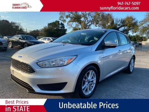2015 Ford Focus for sale at Sunny Florida Cars in Bradenton FL