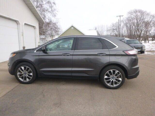 2015 Ford Edge for sale at JIM WOESTE AUTO SALES & SVC in Long Prairie MN