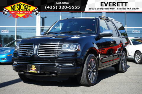 2016 Lincoln Navigator for sale at West Coast Auto Works in Edmonds WA