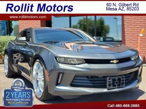 2016 Chevrolet Camaro for sale at Rollit Motors in Mesa AZ