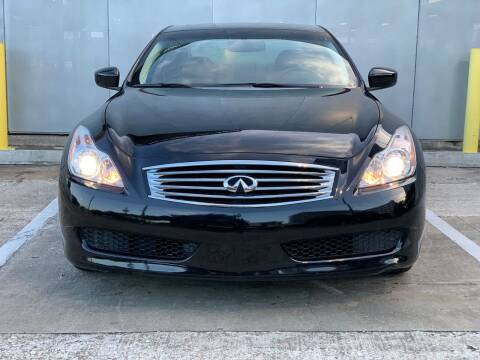 2009 Infiniti G37 Coupe for sale at Delta Auto Alliance in Houston TX