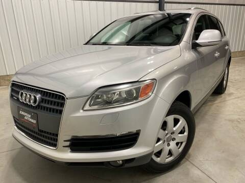 2007 Audi Q7 for sale at EUROPEAN AUTOHAUS in Holland MI