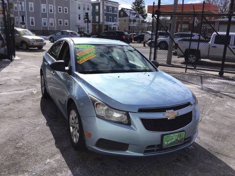 2012 Chevrolet Cruze for sale at Adams Street Motor Company LLC in Dorchester MA