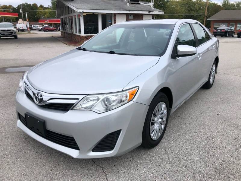 2013 Toyota Camry for sale at Auto Target in O'Fallon MO