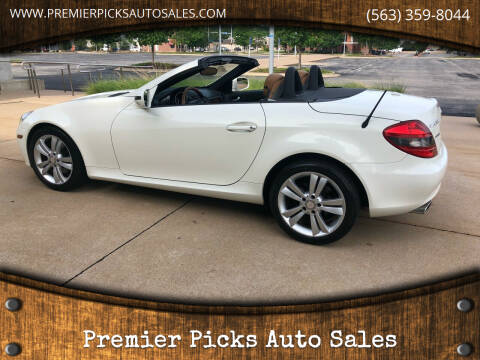 2010 Mercedes-Benz SLK for sale at Premier Picks Auto Sales in Bettendorf IA