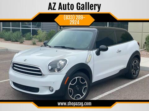 2013 MINI Paceman for sale at AZ Auto Gallery in Mesa AZ